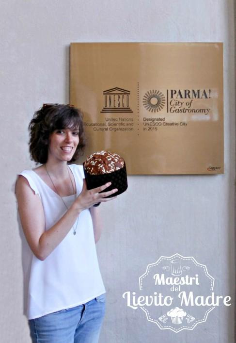 Carlotta Beghi, ex corsista del Master COMET, ora ricercatrice all'Università assegnata al Team UNESCO di Parma.